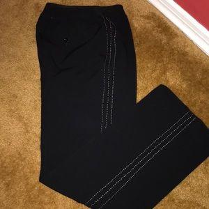 Ann Taylor Loft black trousers. Size 6